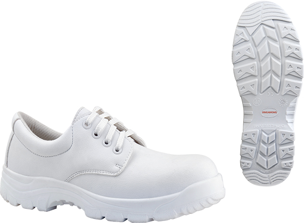 Giày bảo hộ màu trắng xincaihong