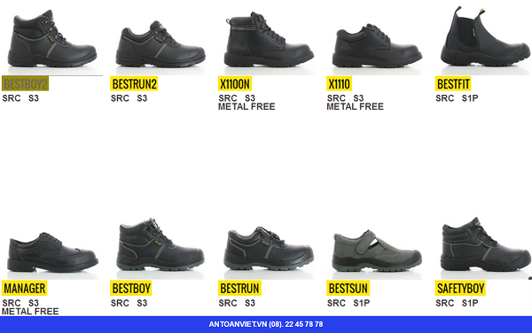 Giày bảo hô jogger tiêu chuẩn  S3