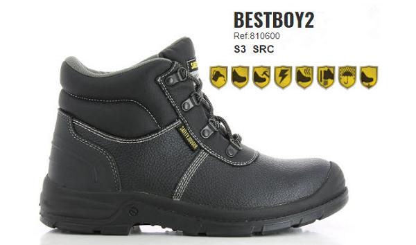 Thông Số Kỹ Thuật giày bảo hộ safety jogger besboy2 S3