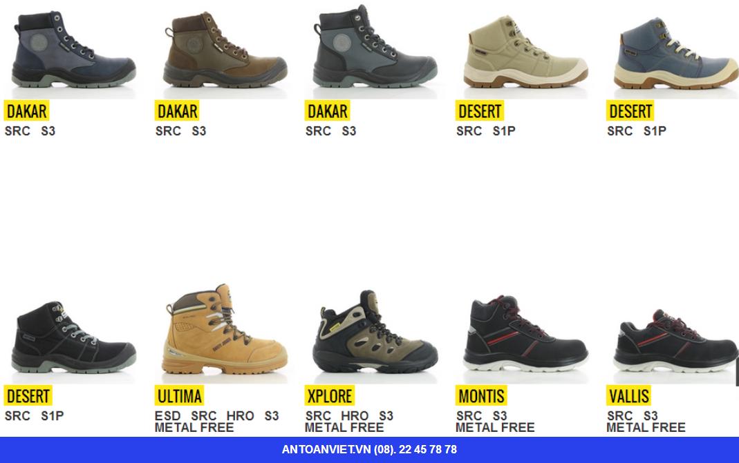 Giày bảo hộ nhập khẩu